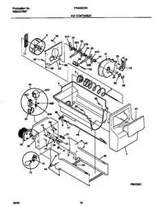 refrigerator parts frigidaire refrigerator parts diagrams