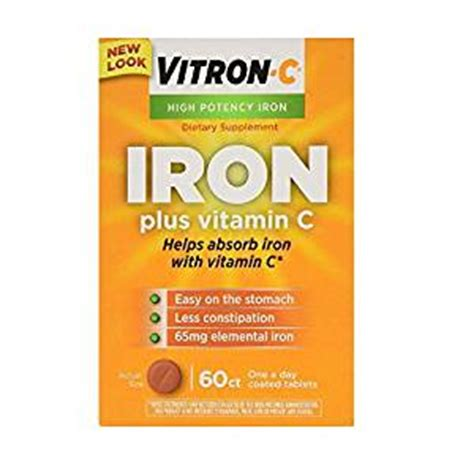 Tv Vitron 14 In emerson healthcare llc vitron c tablets 60 count health personal care