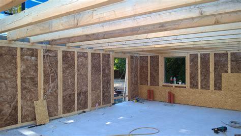 garage holzständerbauweise aufbau auf garage best 28 images flachdach garage fl