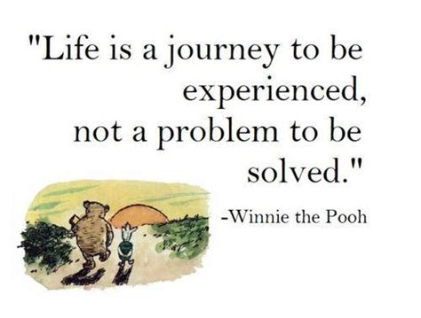 winnie the pooh new year quotes is a journey to be experienced not a problem