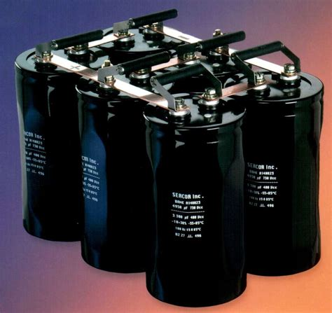 power capacitor electrocube is offering new advanced electrolytic capacitor bank