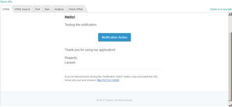 laravel 5 extends layout laravel 5 4 如何自定义通知电子邮件布局吗 广瓜网