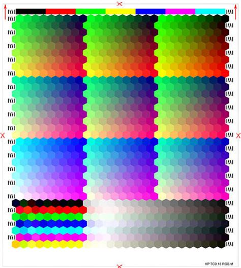 Print Color Test Page In Print Color Test Page Hp Printer Hp Color Printer Test Page