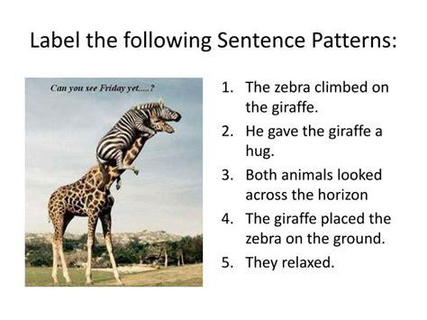 sentence pattern labeler ppt basic sentence patterns powerpoint presentation id