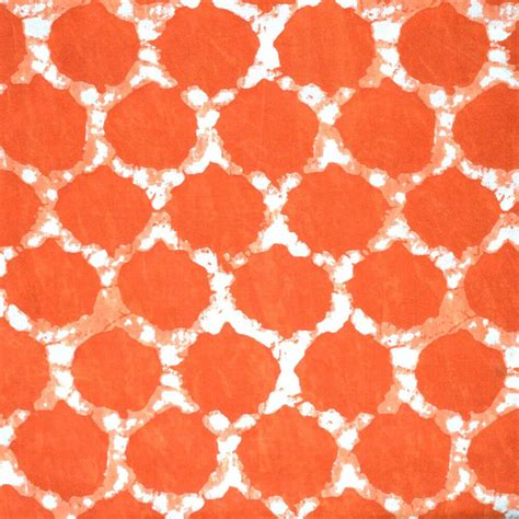 printable cotton fabric buy traditional orange block print cotton fabric by the yard