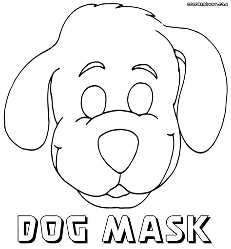 printable dog mask template mask coloring pages coloring pages to download and print