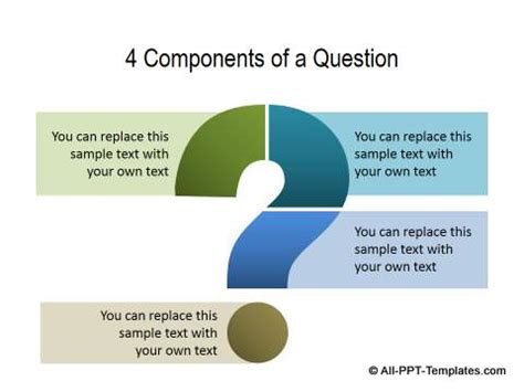 powerpoint questions and answers template powerpoint questions slide templates
