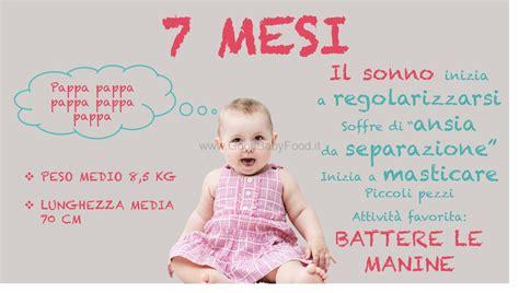 7 mesi neonato alimentazione neonato 7 mesi peso alimentazione sviluppo e progressi