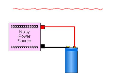 how to connect capacitor to car capacitor