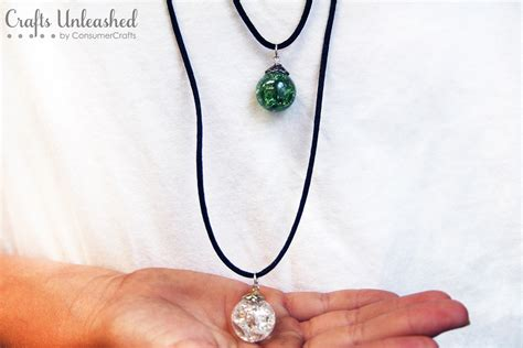 jewelry crafts learn to make cracked marble necklaces