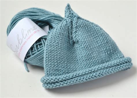 I Chose To Knit My Classic Pixie Beanie In Sublime