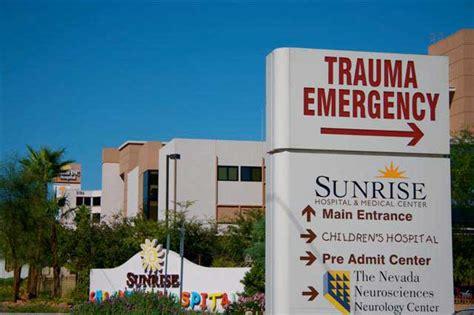 emergency room las vegas emergency room tour children s hospital
