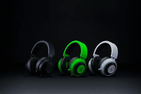 Razer Kraken Pro V2 Black Green White razer kraken pro v2 black ear cushion