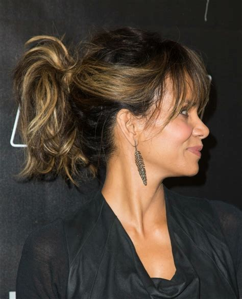 lady neck hair the 13 best updos for short hair glamour