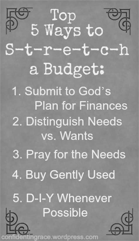 ways          budget   family   lives