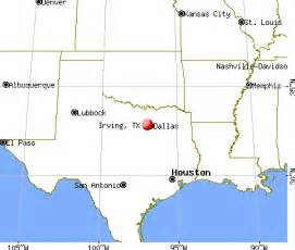 where is irving on the map twxas irving pictures to pin on pinsdaddy