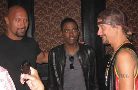 Chris Rock No In The Chagne Room by Viral Photo Shows Epic Rock Formation Kid Rock Chris
