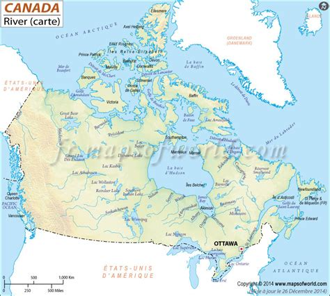 canadian map with coordinates rivers au canada rivers canada