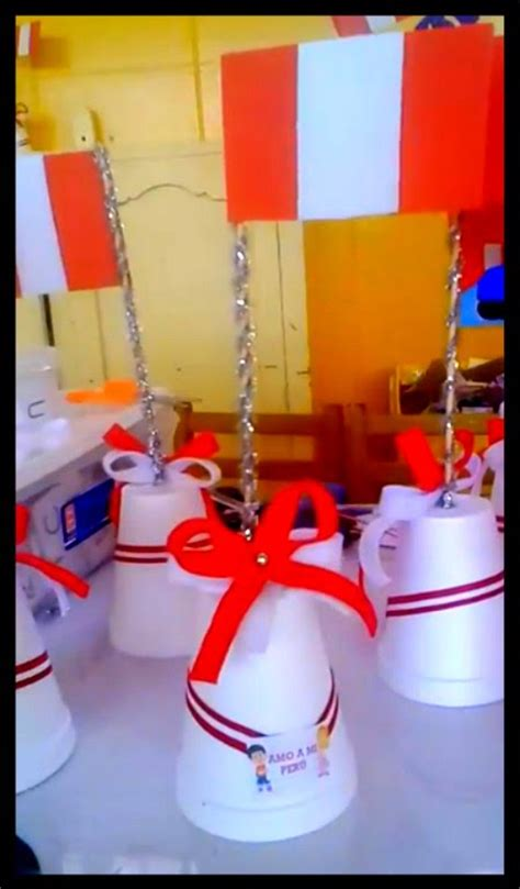 manualidades bandera del peru creativas manualidades por fiestas patrias peru