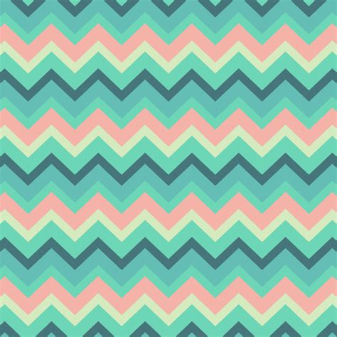 pattern pastel drawing vintage turquoise pastel tiffany chevron pattern art print