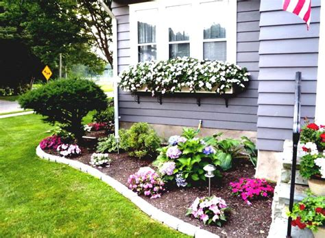Flower Bed Ideas For Front Of House Gardening Flowers Pictures Of Flower Gardens In Front Of House