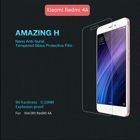 Tempered Glass Xiaomi Redmi 4a nillkin h tempered glass screen protector for xiaomi redmi 4a alex nld