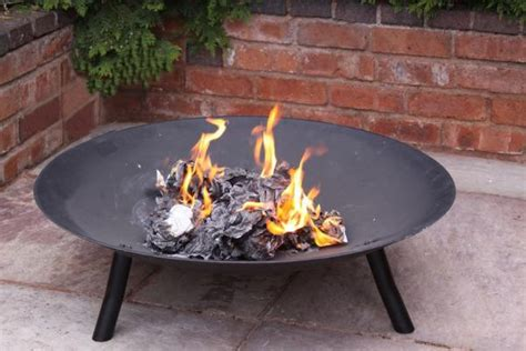 Large Firepit 90cm Cast Iron Bowl Family Pit Patio Heater Large Firepit Ebay