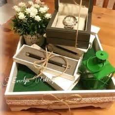 Kotak Cincin Wooden Ringbear Tray sweet greeny white rental kedah rm25 tray whatsapp