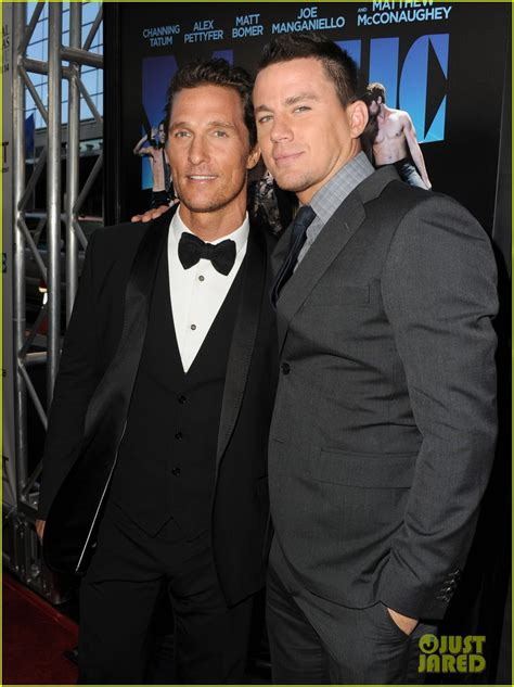 channing tatum matthew mcconaughey matt channing tatum magic mike premiere photo 2679171