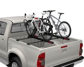bett und bike yakima bedrock truck bed rack orsracksdirect