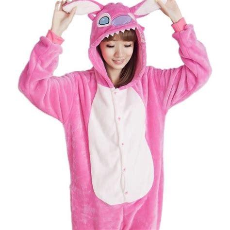 stitches pijama pijamas enteros de stitch rosa kigurumi envio gratis