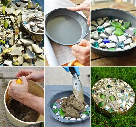 wonderful diy garden stepping stone ideas