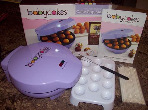 Cake Maker by Being Frugal And It Work Cake Pops Babycakes Cake