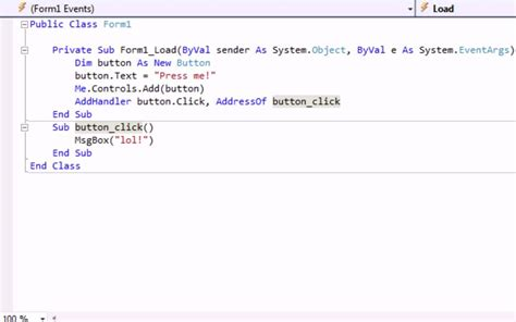 design form visual basic 2010 visual basic 2010 2008 how to add controls to your form
