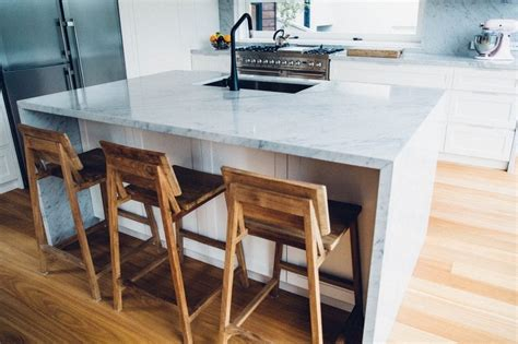 carrara marble kitchen island carrara marble kitchen cremorne home