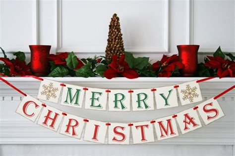 merry christmas banner chistmas photo prop holiday