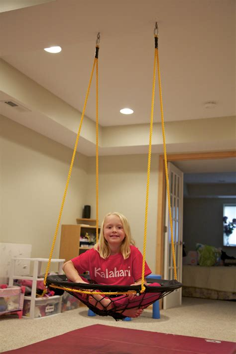 bungee swing holly s arts and crafts corner diy project basement