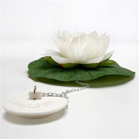 bathroom plug lotus bath plug the green head