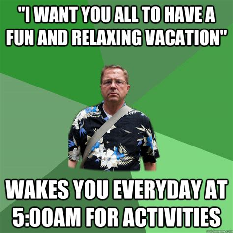 Vacation Meme - nervous vacation dad memes quickmeme