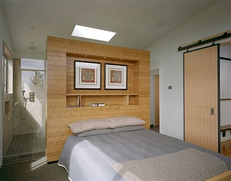 split master bedroom modern remodel of the post war split level house into a