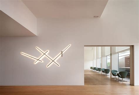 design wandleuchten led contemporary wall light linear polycarbonate led