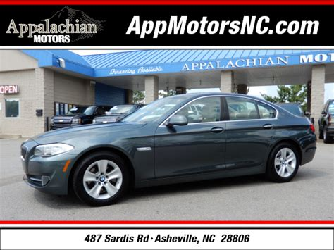 asheville bmw 2011 bmw 5 series 528i for sale in asheville