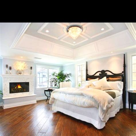 tray ceiling bedroom love the tray ceiling and wood floors next house we