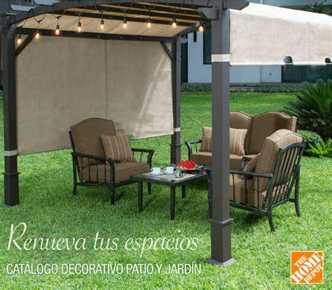 Jardin Patio by Ambientando Mi Hogar Con Muebles De Patio The Home Depot