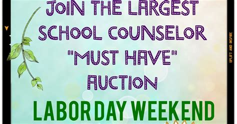 the middle school counselor get ready for the largest