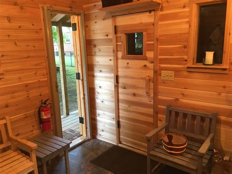 shed majal  northeast ohio  long sauna build journey    totally worth  saunatimes