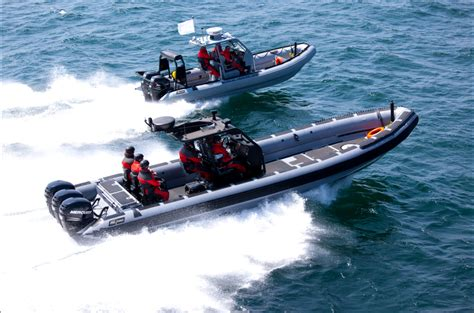 yacht opblaasboot zodiac milpro la cura dello yacht