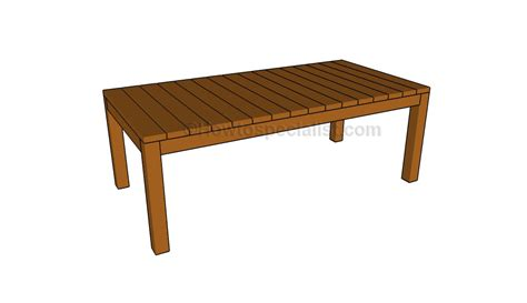 Dining Table Plans by Dining Table Plans Howtospecialist How To Build Step