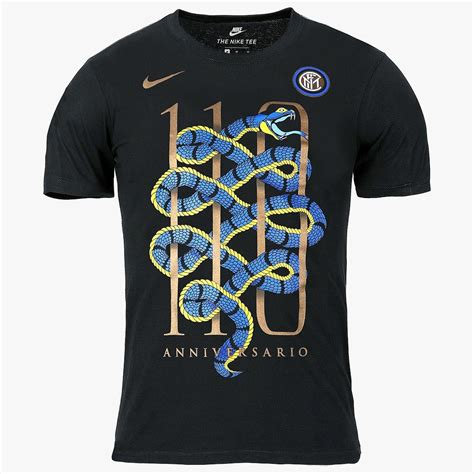 T Shirt Kaos Inter Milan Since 1908 Black 2 Stunning Nike Inter Milan Debuts 110 Years Anniversary T