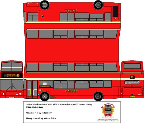 Transition Style - ron and tons blog creating paperbuses from across the uk page 12